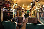 Musée du Transport de Londres, wagon de métro