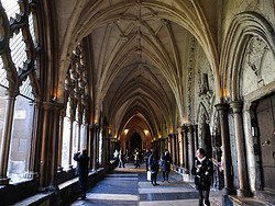 Westminster Abbey, cloisters
