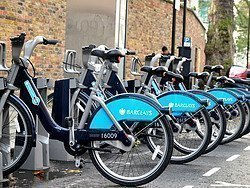 Bicycle-sharing in London