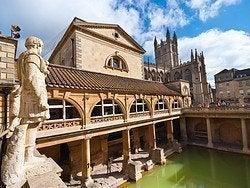 Bath, Thermes Romains