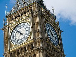 Big Ben, detalle del reloj