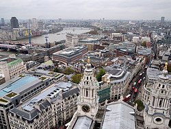 Views from the top of St. Paul's Cathedral