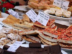 Portobello, stand de nourriture