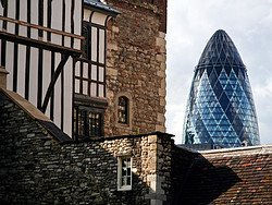 Contrasts in London