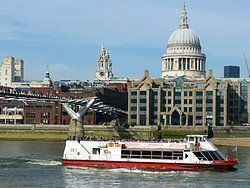 View of St. Paul's Cathedral from the Thames