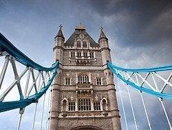 Le temps à Londres, jour nuageux
