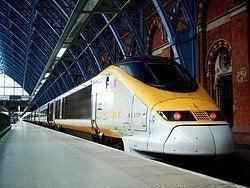 Eurostar arrivando a St.Pancras