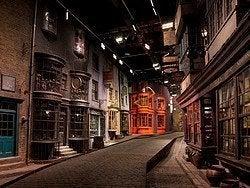 Harry Potter tour in the Warner Bros studios