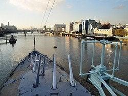 HMS Belfast, vistas