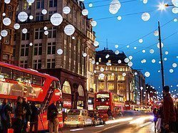 Christmas lights, Oxford Street