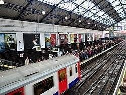 Metro de Londres en hora punta