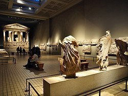 Museo Británico, Monumento a las Nereidas