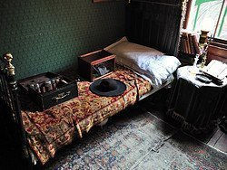 Museo de Sherlock Holmes, habitacion