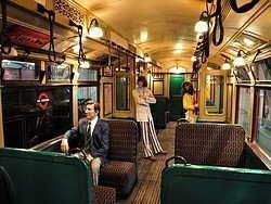 London Transport Museum, Underground carriage