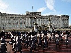 Palacio de Buckingham, Cambio de Guardia