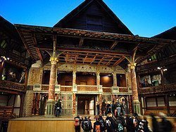 Shakespeare's Globe Theatre, interior