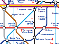 Plano de metro de Londres