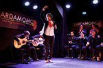 Show flamenco no tablado Cardamomo