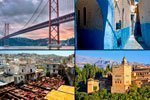 Portugal, Andalucía y Marruecos en 17 días