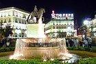 Puerta del Sol, statue of Carlos III