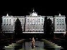 Palácio Real visto dos jardins de Sabatini