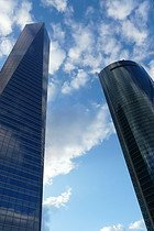 Torre de Cristal y Torre Espacio