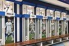 Guided Tour of the Bernabéu, locker rooms