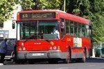 Ônibus em Madrid