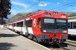 Trenes de cercanías en Madrid