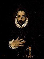 Museo Prado, El caballero de la mano en el pecho