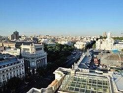 Círculo de Bellas Artes, vistas