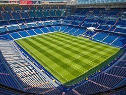 Estadio Santiago Bernabéu, interior