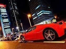 En Ferrari por Madrid
