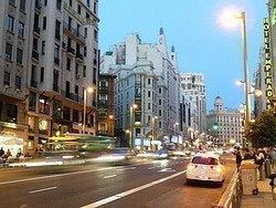 Gran Vía desde Plaza de España