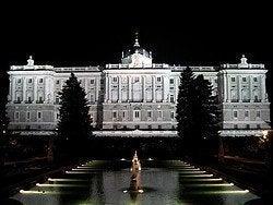 Palacio Real desde jardines de Sabatini
