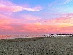Atardecer en la Costa del Sol