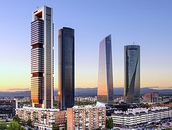 The four towers, the roof of Madrid