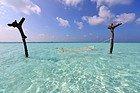 Gili Lankanfushi, tumbona en medio del océano índico
