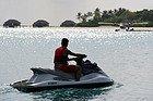 Moto de agua en Maldivas