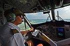 Sobrevolando los atolones en hidroavión