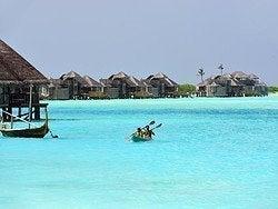 Kayak en Maldivas