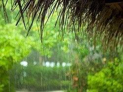 Lluvia en Maldivas, abundantes y de corta duración