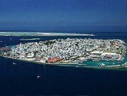 Malé, la capital de Maldivas