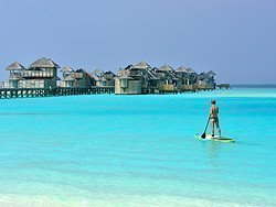 Stand Up Paddle en Maldivas