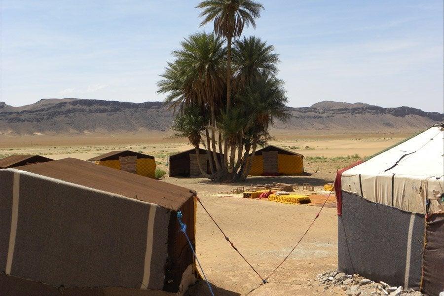Otra foto del campamento