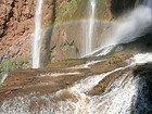 Arco iris en las cataratas