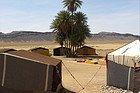 Berber tents in the Zagora Desert