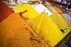 Compras en Marrakech, especias