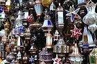 Compras en Marrakech, lamparas
