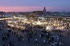 Marrakech, Plaza Jamaa el Fna